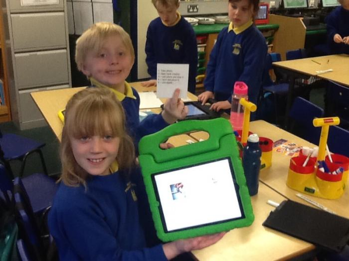 Following instructions for Book Creator.